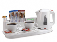 Northmace Hotel Safety Welcome Tray with Kettle - ELEGANCE